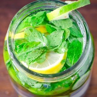 BEST LEMON CUCUMBER MINT WATER