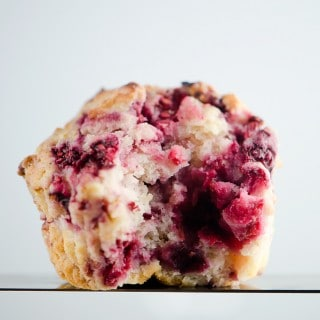 RASPBERRY MUFFINS IN 30 MINUTES