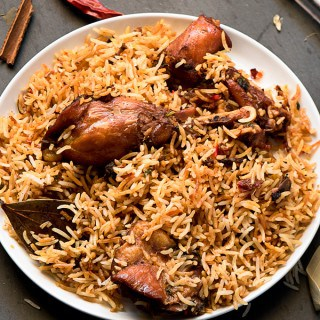 CHICKEN BRIYANI RECIPE ( INDIAN CUISINE)