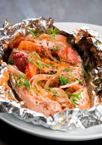 Baked salmon recipe foil