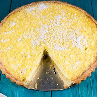 LEMON TART RECIPE ( CROSTATA DI LIMONE)