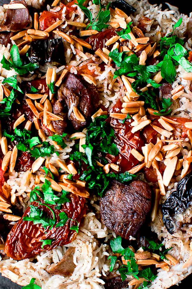 Makloubeh recipe