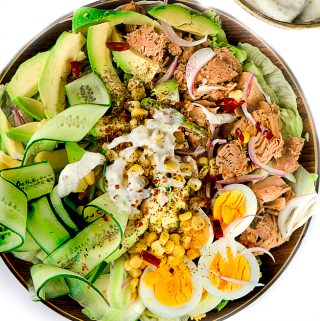 AVOCADO TUNA SALAD ( 10 MINUTES TO MAKE)