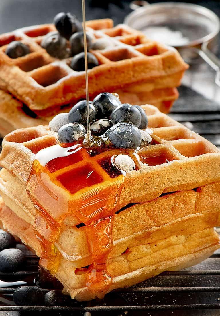 Easy Belgian Waffle Recipe Video Chefjar