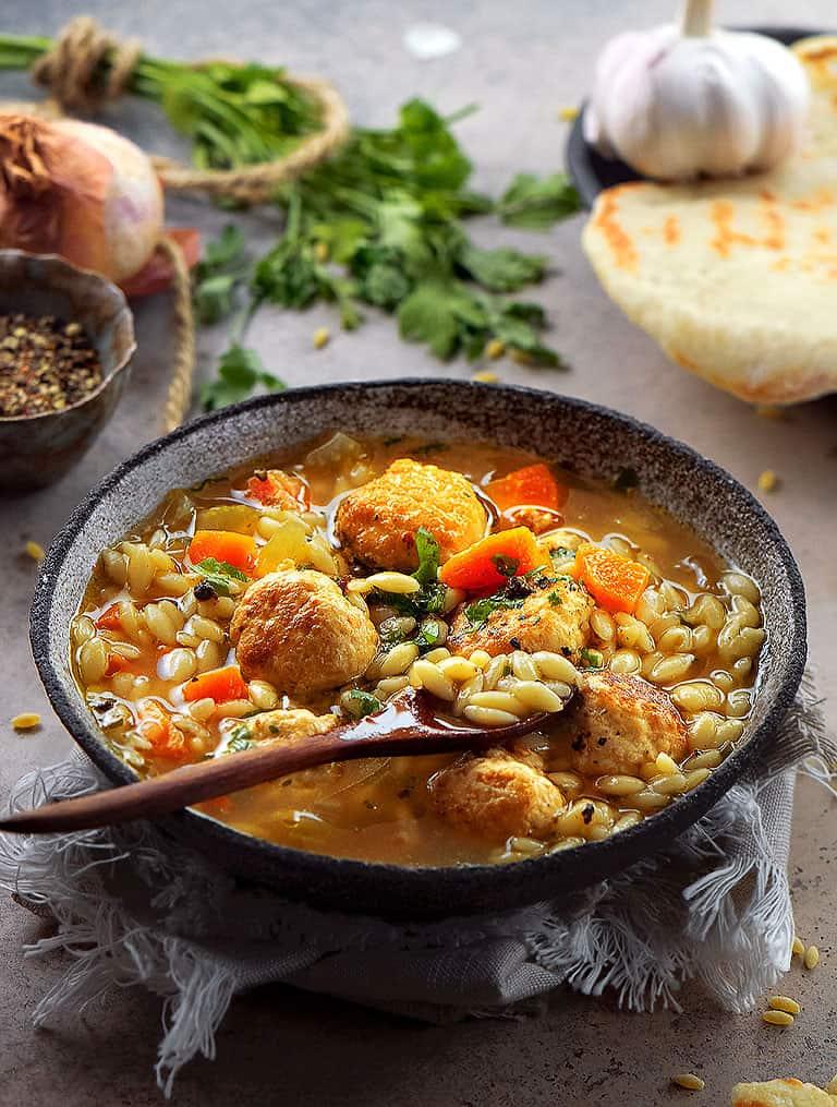 chicken-meatball-soup