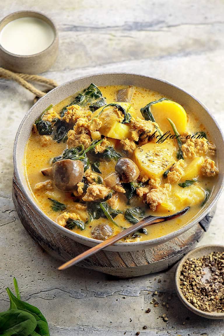 ground-chicken-soup