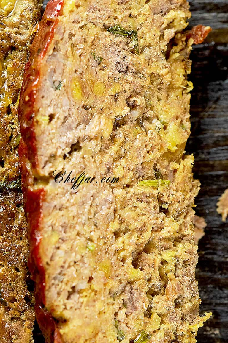 easy  meatloaf recipe with few ingredients