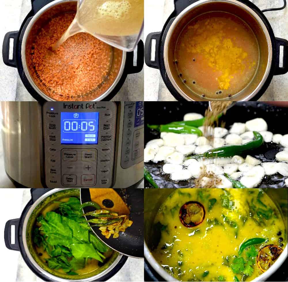 how to make lentil soup in instant pot