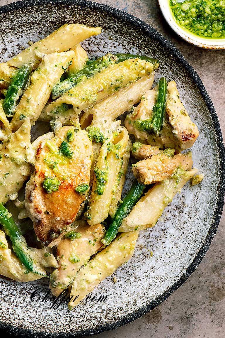 chicken pesto pasta