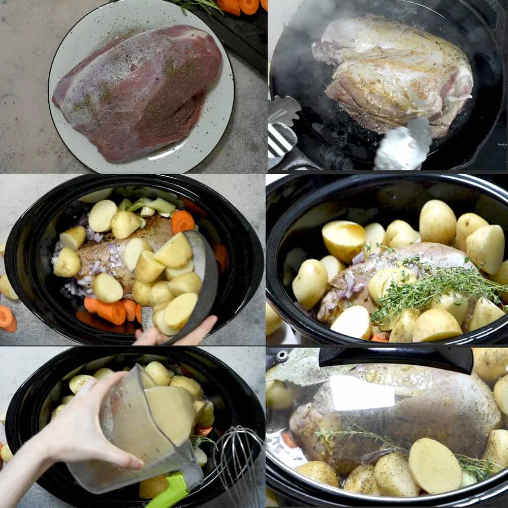 how to make pot roast in crock pot