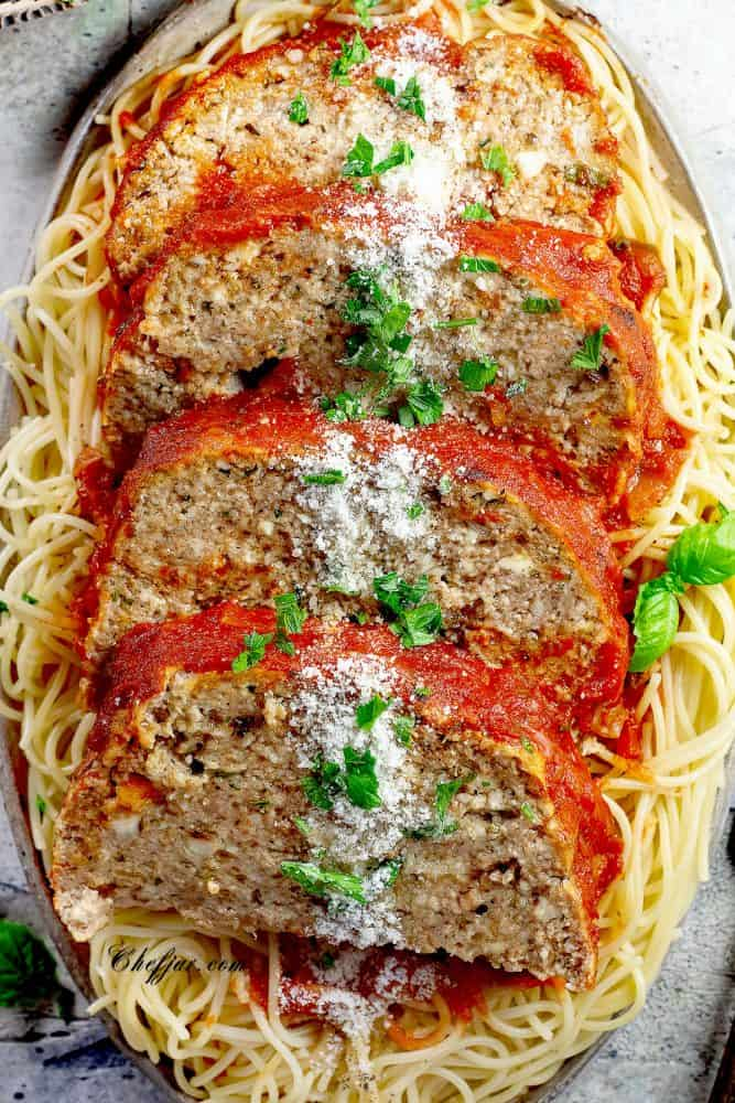 italian-meatloaf-with-ricotta-cheese