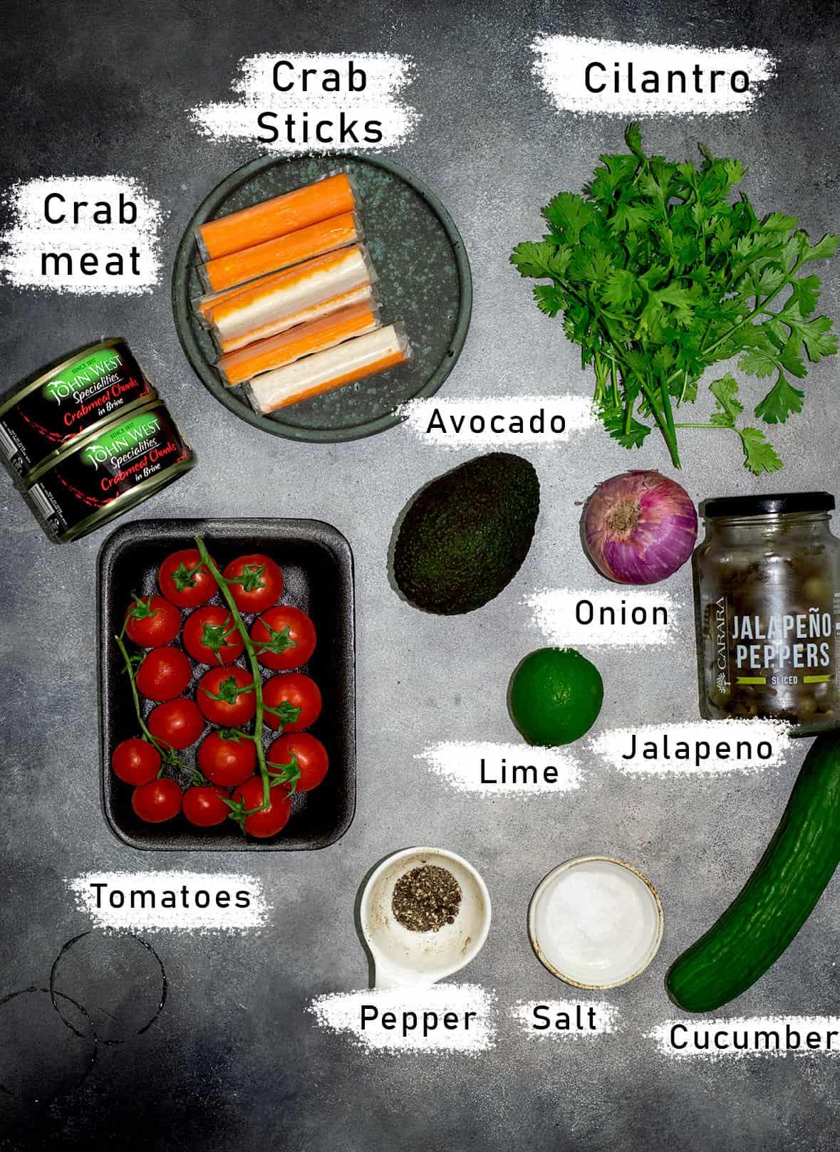 jaiba ceviche ingredients
